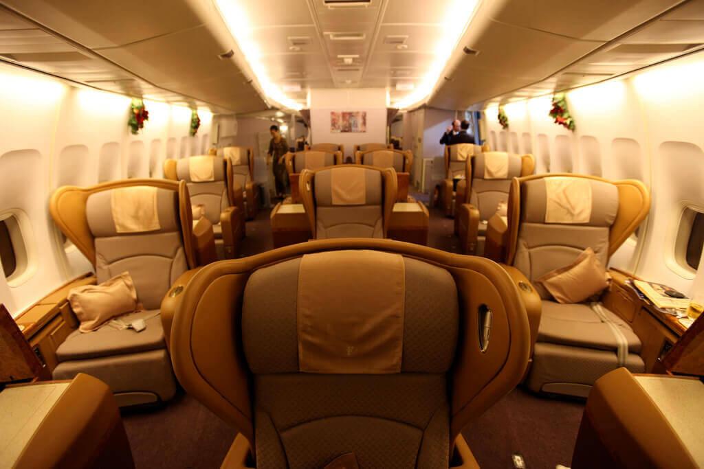 Singapore Airlines hat mit die beste First Class. (Foto: Richard Moross)