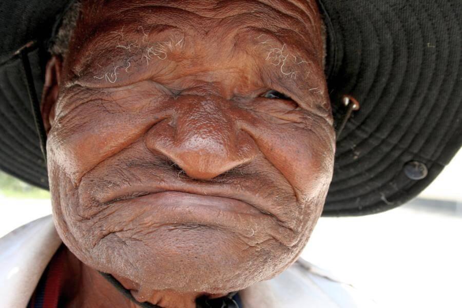 Verhandeln in Afrika Alter vor Schönheit