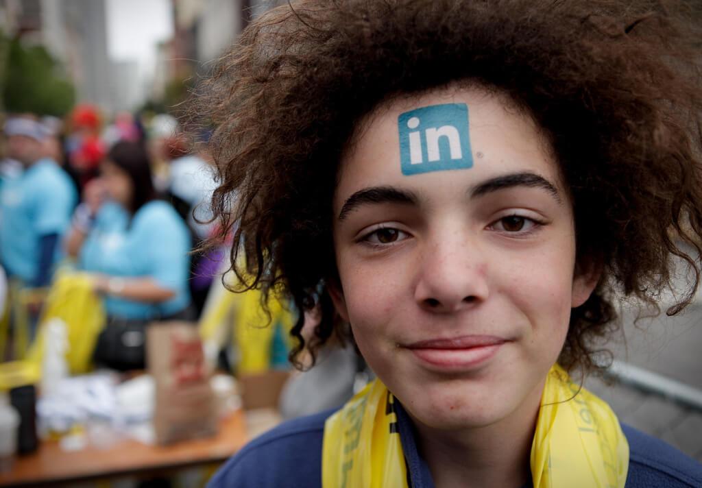 Man muss schon etwas Leidenschaft für LinkedIn entwickeln! (Foto: A Name Like Shields Can Make You Defensive)